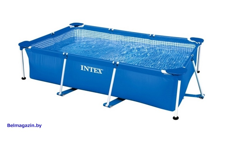 Каркасный бассейн Intex Rectangular Frame 300x200x75 см